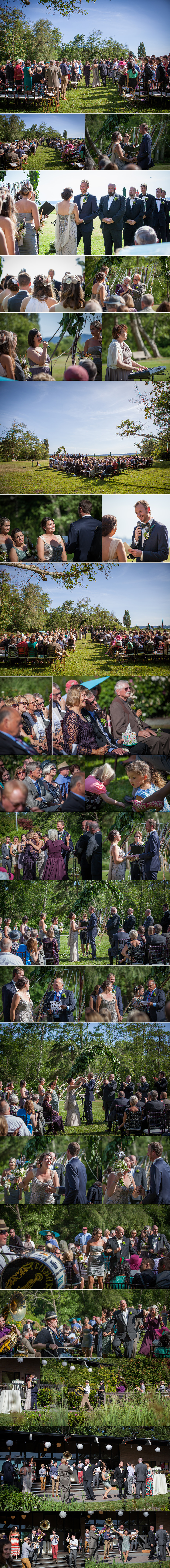 outdoor wedding in Seattle